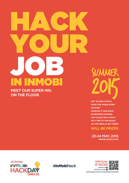 Inmobi hackday 2015 graphics design – Wirepaper Studios